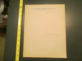 Waterloo Iowa Farmers Homes Company 1915 IA Letterhead 884 - $10.99