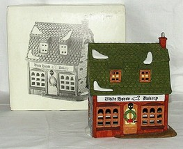 Christmas White Horse Bakery Dickens Village Series 59269 Dept 56 Vintage  - $29.69