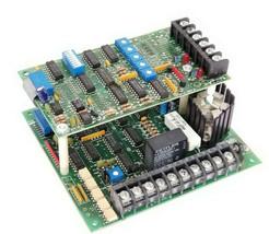 INDUSTRIAL DEVICES CORP. D2200 CONTROL BOARD REV. B W/ VS-001A BOARD REV. F