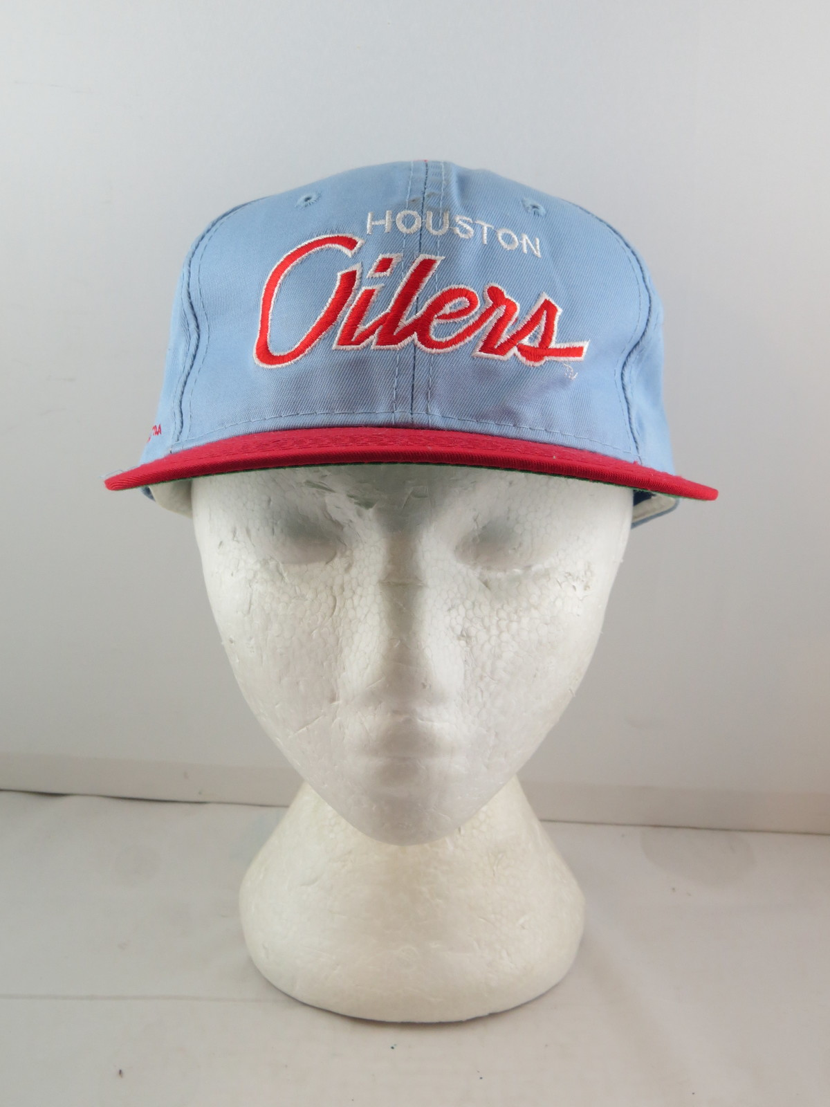 Houston Oilers Hat (VTG) - Twill Script by Sports Specialties - Adult Snapback