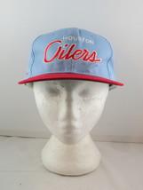 Houston Oilers Hat (VTG) - Twill Script by Sports Specialties - Adult Snapback - $125.00