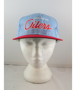 Houston Oilers Hat (VTG) - Twill Script by Sports Specialties - Adult Sn... - $125.00