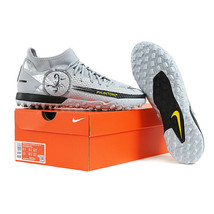 Nike Phantom GT Academy DF SE TF Football Boots Soccer Cleats Gray DA226... - $116.99