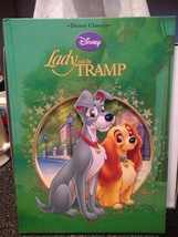 Disney Classics Lady And The Tramp Hardcover Collectible Book Brand New - $11.99