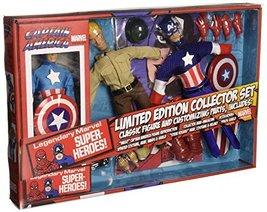 "Diamond Select Toys Marvel Retro Captain America Action Figure Set, 8"" - $64.41"