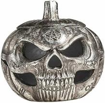 Alchemy of England Gothic Pumpkin Halloween Spooky Skull Trinket Pot Box... - $30.01