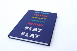 Weekend Play Funny Notebook A5 Lined Note Pad Diary  - $6.48