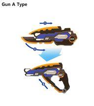 MINI FORCE Miniforce X Penta X Double Sword Gun Transforming Toy Gun  image 4