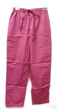 Premier Fushia Elastic Drawstring Uniform Small Scrub Bottoms Pants 115 New - $13.55