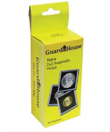 10 Guardhouse 2x2 Tetra Snaplock Coin Holders for Nickel 21.2mm - $6.74