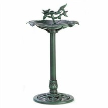 Verdigris Green Bird Bath - $23.92