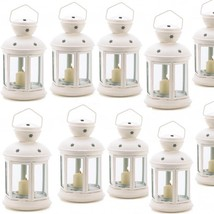 Lot 10 Gazebo Lantern Candleholder White Contemporary Wedding Centerpieces - $74.25