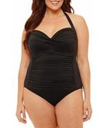 Liz Claiborne One Piece Swimsuit Plus Size 18W, 20W, 22W New Msrp $99.00 - $39.99