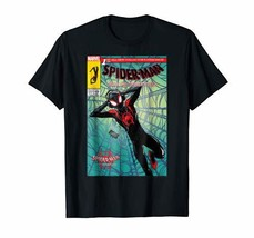 Marvel Spider-Man Spiderverse Collectors Comic Cover T-Shirt - £26.78 GBP