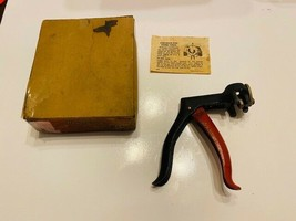 Vintage Stanley Tools No. H432 Saw Set Saw Tooth Setting Tool In Original Box - $40.00