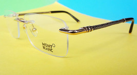 Montblanc Optical Frames MB0391/V 028 55-17-145 Metal MADE IN ITALY - New! - $199.95