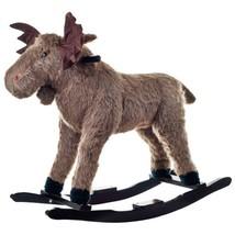 Happy Trails Plush Rocking Max Moose - $64.55