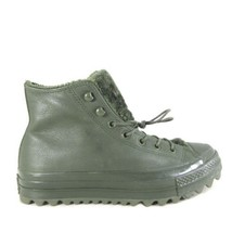 9.5 - Converse CTAS Lift Ripple Hi Utility Green Sneaker Boot NEW w/ Box... - $80.00
