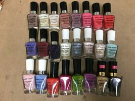 Wet N Wild Mega last Salon Nail Polish Lacquer Enamel - CHOOSE YOUR COLOR - $4.15+