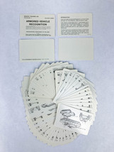 Vintage Army Armored Vehicle Recognition Cards 1987 - GTA 17-2-13 CH. 1 - $6.69