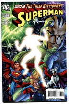 SUPERMAN #669-First appearance of the Kryptonian Tactical Defense Unit-DC comic - $31.53