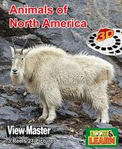 View-Master Look & Learn Animals of North Americal 3D 3 Reels - $22.72