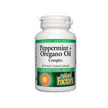 Natural Factors Peppermint & Oregano Oil Complex, 60 Soft Gels - $13.55