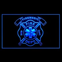 150067B Fire Medical EMS Department IAFF Paramedic Gear Display LED Light Sign - $18.00