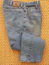 MEN'S WRANGLER BLUE JEANS DENIM STRAIGHT LEG SIZE 36X30 STYLE# 9760wdr - $14.84