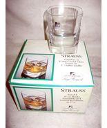 "(4) ""STRAUSS""  BLOWN CRYSTAL GLASSES LIGHT & MUSIC BY LUIGI BORMIOLI GLA... - $8.99"