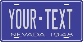 Nevada 1948 License Plate Personalized Custom Auto Bike Motorcycle Moped key tag - $10.99+