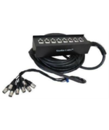 32' 8 Channel Box XLR Cable Snake - $59.39