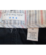 Pants by Covington Size 18 Black TF354/CJC - $12.94