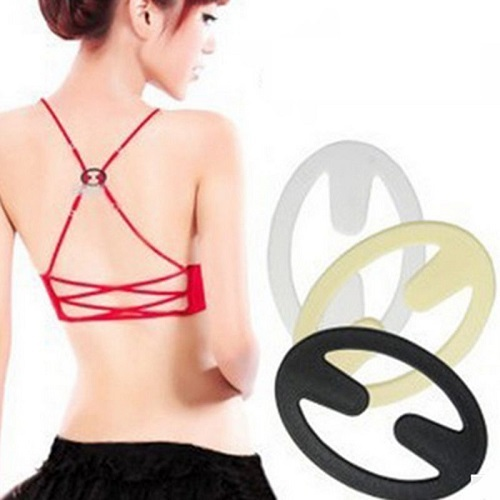 20 Pack - New Women Bra Strap Cleavage Control Buckle Clips Oval Holder