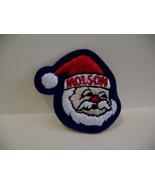 Molson Canadian Beer Santa Claus Souvenir Patch Crest - $4.99