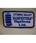 Ottawa Valley Harvestore Systems Ltd. Souvenir Patch Crest - $4.99