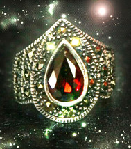 HAUNTED RING VAMPIRE BLOOD TIES SECURE & STRENGTHEN RELATIONS OOAK MAGICK POWER  - $8,977.77