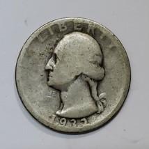 1932D George Washington Quarter 90% Silver Coin Lot# E 189