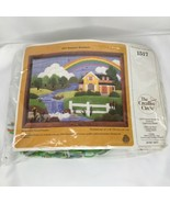 The Creative Circle Summer Rainbow 1517 Plastic Canvas Needlecraft Kit 1... - $15.48