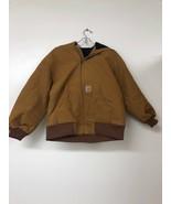 Carhartt Big Boys Active Jacket, Carhartt Brown, M(10-12) - $62.88