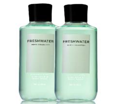 Bath & Body Works Freshwater For Men - 1 - Set of 2 - Hair + Body Wash D... - $26.41