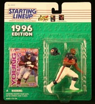 Starting Lineup Rashaan Salaam / Chicago Bears 1996 NFL Action Figure andamp; Ex - $17.77