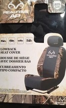 RealTree™ AP Front Low Back Seat Covers Camo Black Hunting NEW - $22.43