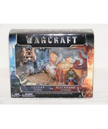 NIB 2016 WARCRAFT LOTHAR W/GRYPHON VS BLACKHAND W/FROSTWOLF MINI FIGURES... - $19.99