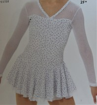 Mondor Model 12931 Girls Skating Dress - Frimas size Child 8-10 - $100.00