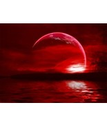 FREE W/  $49 ORDER SUPER MOON BLOOD BLUE MOON ECLIPSE ALIGN CRYSTAL - $0.00