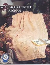 Peach Chenille Afghan Crochet Pattern~Annie's Quilt & Afghan Club - $12.99