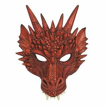Dragon Mask Red, Halloween/Game of Thrones, Fancy Dress - £6.09 GBP