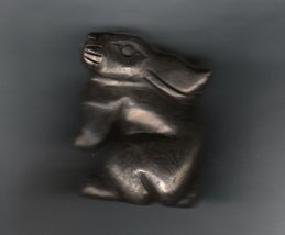 CARVED PYRITE BUNNY RABBIT - $21.50