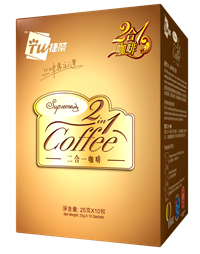 TW Supreme 2 in 1 Coffee